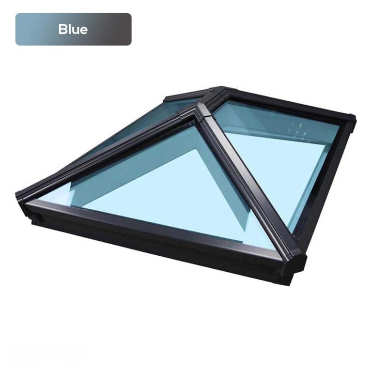 Order Korniche roof lantern with blue glazing