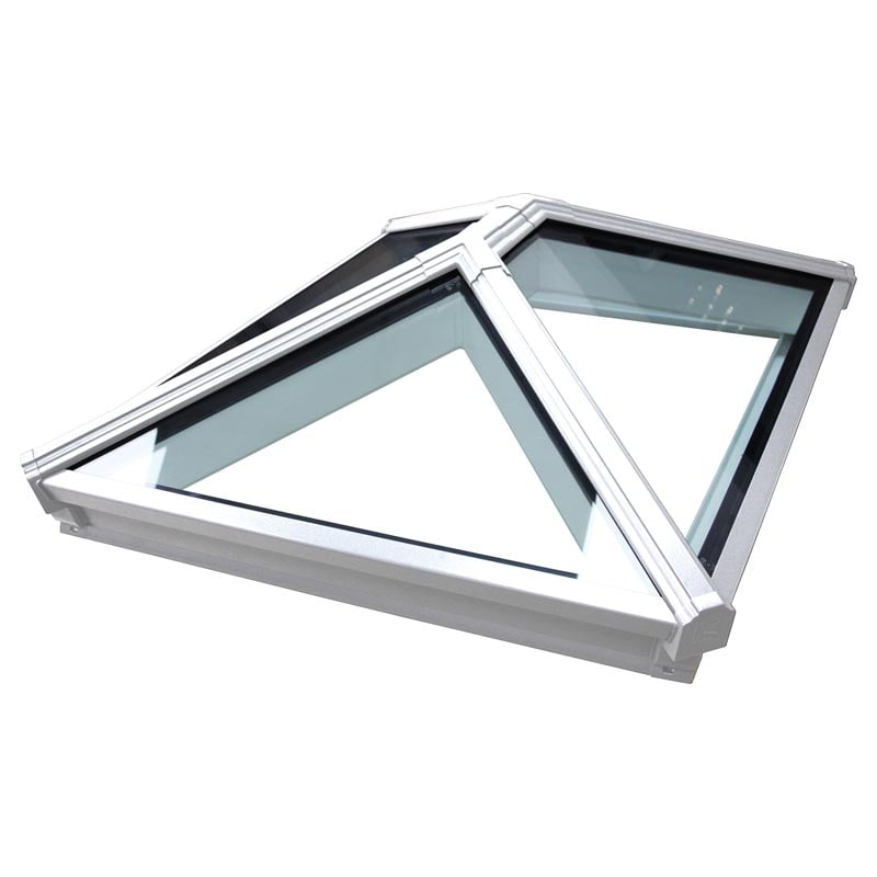 Korniche roof lantern with clear glazing